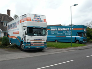 Business Removals Birmingham and Solihull