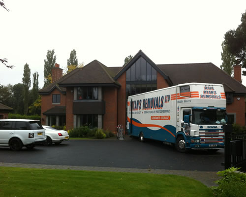 Home Removals - Solihull and Birmingham