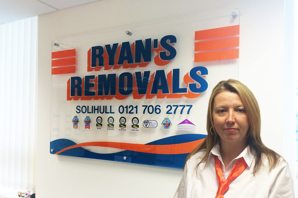 Storage in Solihull and Birmingham - Ryans Removals